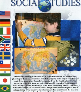 A page for Social Studies