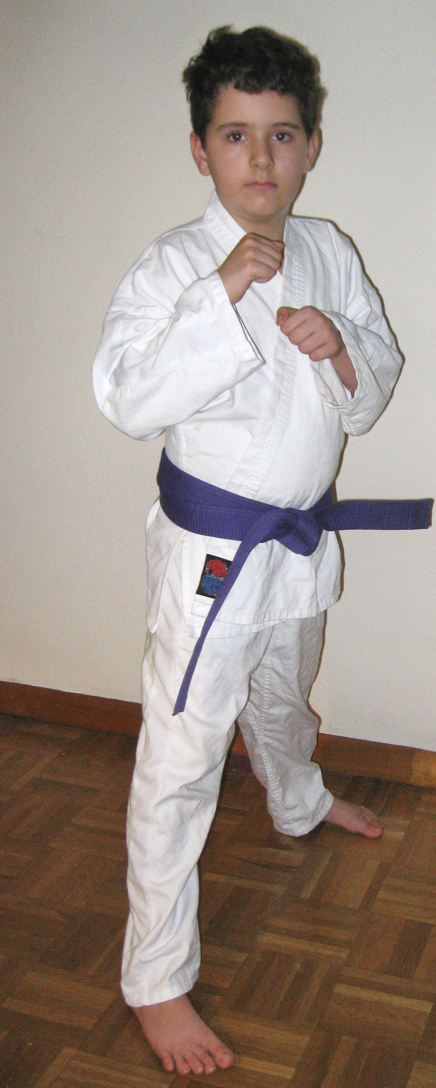 His Test For Purple Belt